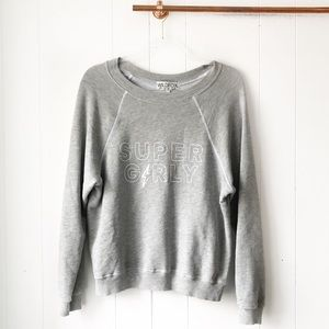NWT Wildfox Super Girly Sweatshirt